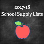 2017-18 School Supply Lists Available