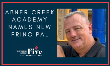 Abner Creek Academy Names New Principal