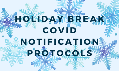 holiday break graphic
