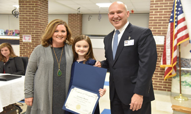 River Ridge Student Wins Holiday Card Contest