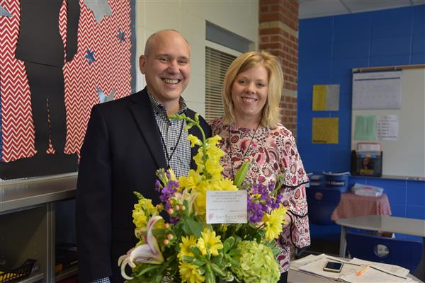 Teacher, Support Employee Of The Year Honored