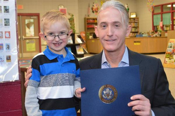 Gowdy Honors River Ridge Student