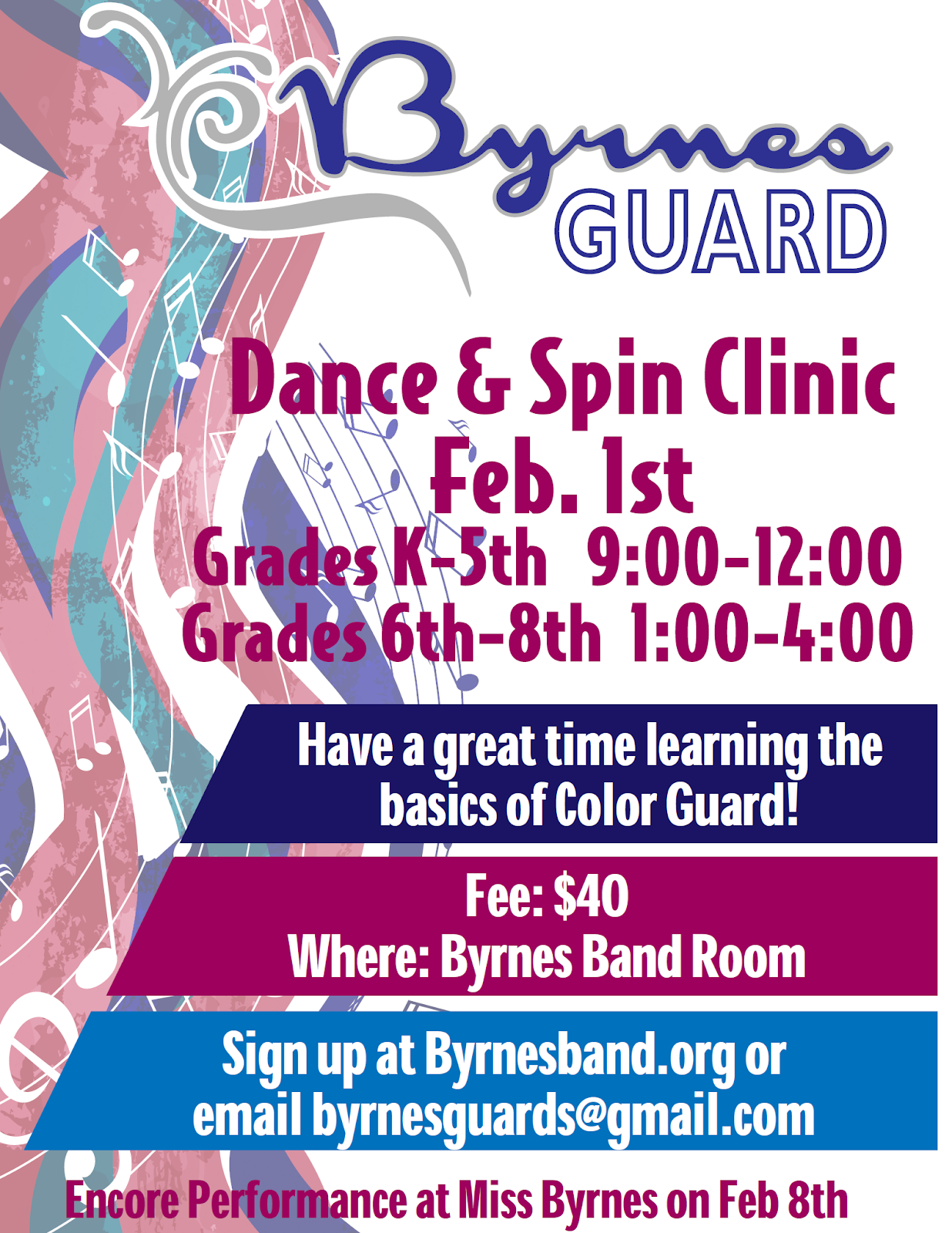 Dance and Spin Clinic