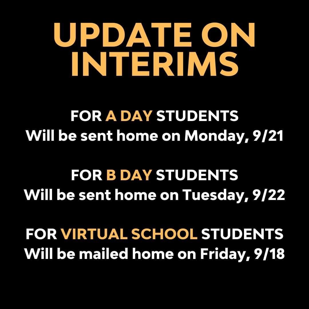 Update on Interims