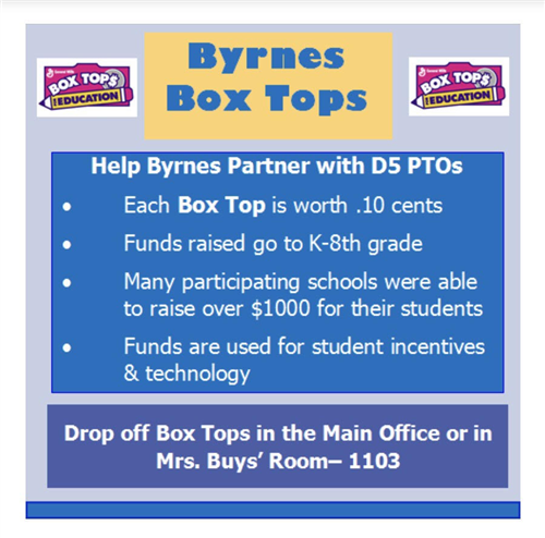Byrnes Box Tops
