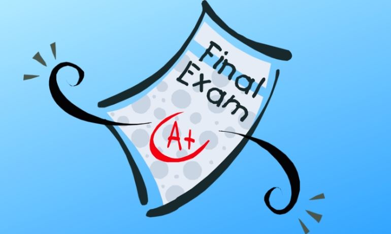 Final Exam Graphic