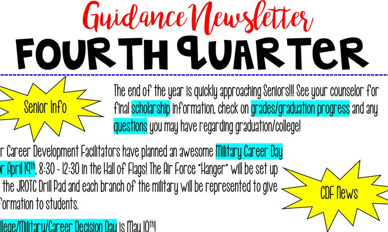 Q4 Guidance Newsletter