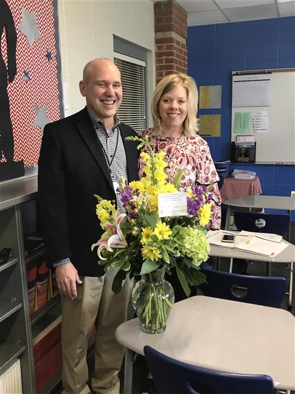 District Teacher of the Year and Support Employee of the Year