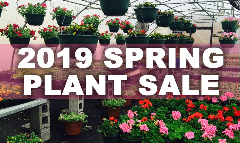 2019 Plant Sale Button