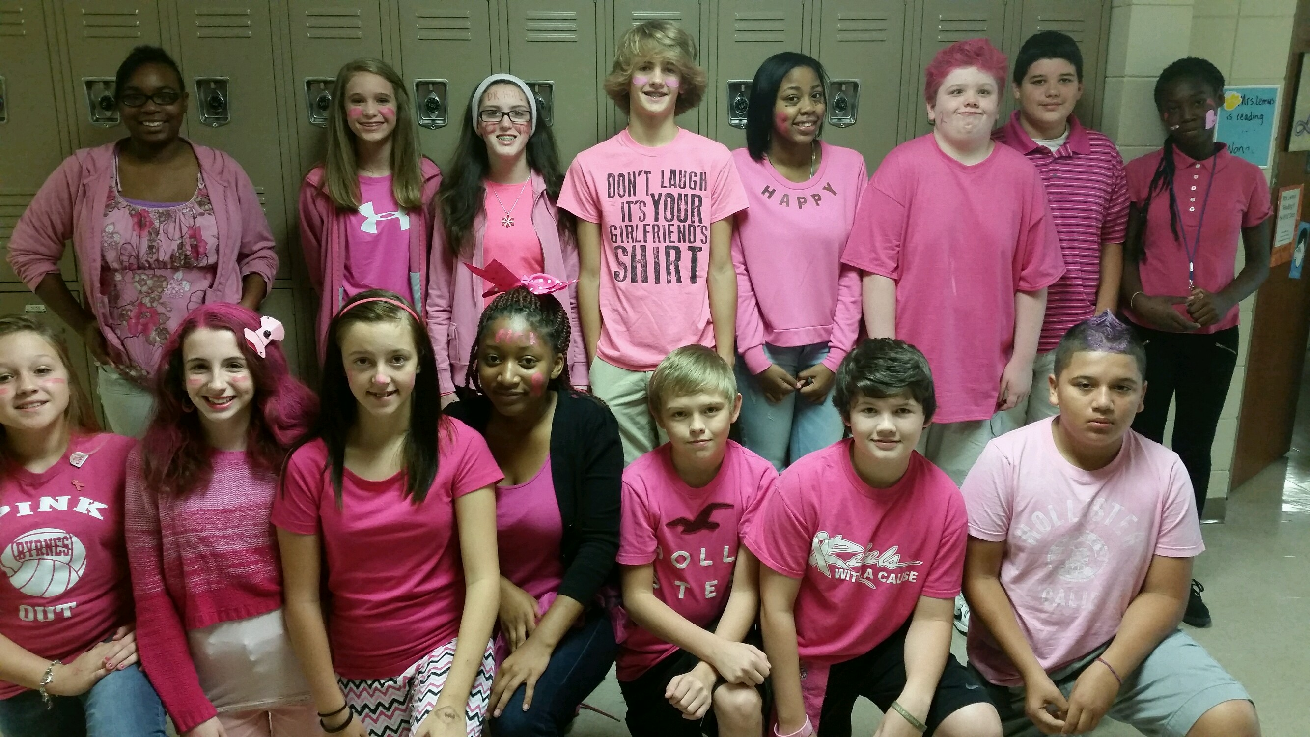 Pink-Out at the Hill