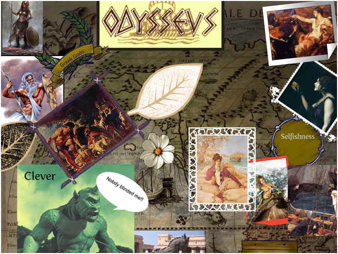 Odysseus character traits in The Odyssey?